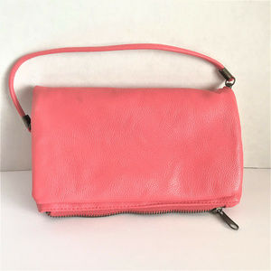 Charlotte Russe Pink Womens Clutch Wallet
